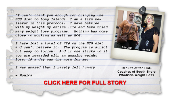 HCG Weight Loss Success Story