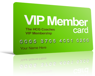 HCG Coaches VIP Membership Card